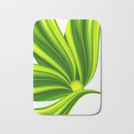Abstract green 209 Bath Mat