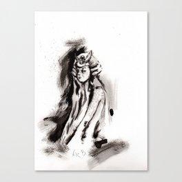 El arte de la guerra (sketch version) Canvas Print