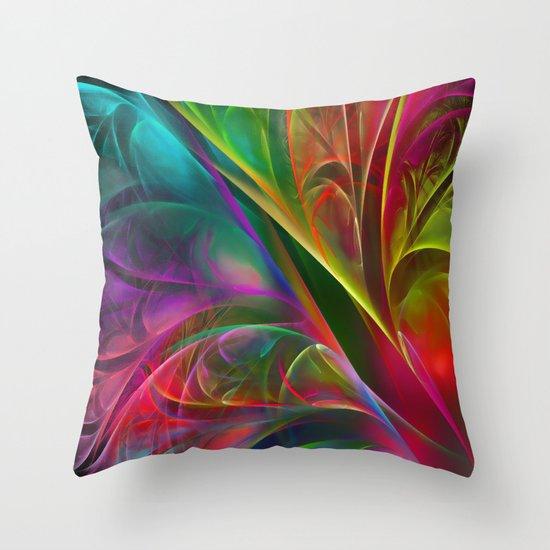 Fabulous Petals Throw Pillow