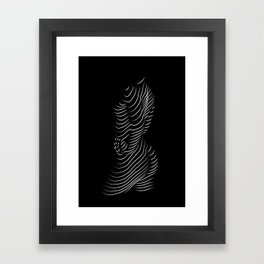 light playing Framed Art Print