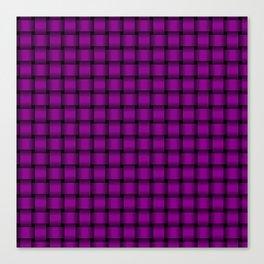Small Purple Violet Weave Canvas Print