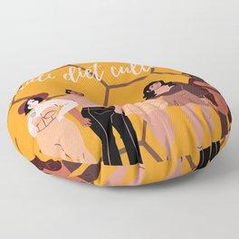 anti diet culture Floor Pillow