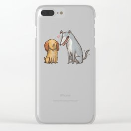 Lady & the Tramp Clear iPhone Case