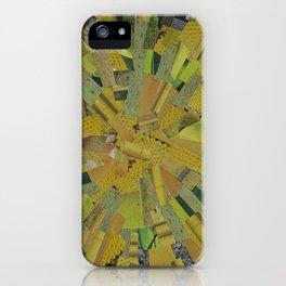 """The Green Energy"" Ecologic atypic art by WHITEECO Ecologic design iPhone Case"