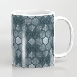Dungeon Dice Pattern Coffee Mug