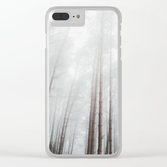 into the woods I go to find my soul Clear iPhone Case