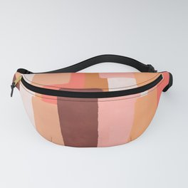 Line In Coral #society6 #abstractart Fanny Pack