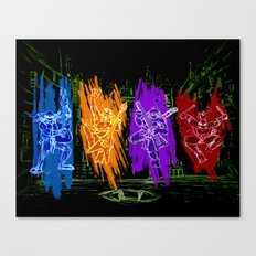 TMNT Rock Canvas Print