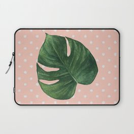 Leaf & Polka Dots Laptop Sleeve