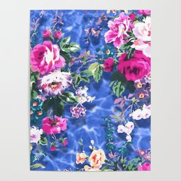 Bouquets with roses 4 Poster