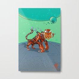 Astro Zodiac Force 03: Tiger Metal Print