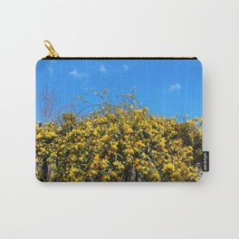 Cat's Claw Vine Over Fence Carry-All Pouch