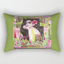 Summer awakening Rectangular Pillow