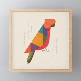 Australian King Parrot Framed Mini Art Print