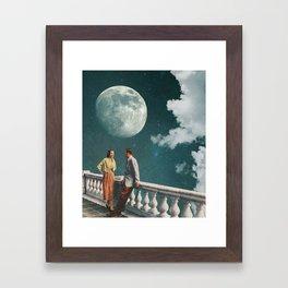 BEYOND LOVE Framed Art Print