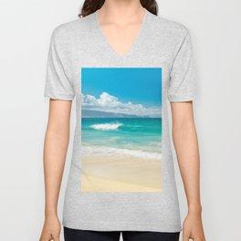 Hawaii Beach Treasures Unisex V-Neck