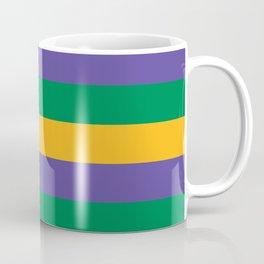 Mardi Gras Rugby Stripe Coffee Mug