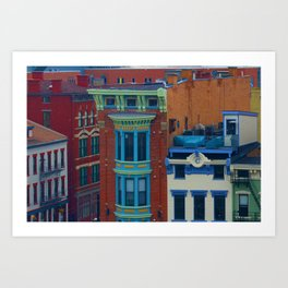 Vine Street, Over-the-Rhine Art Print