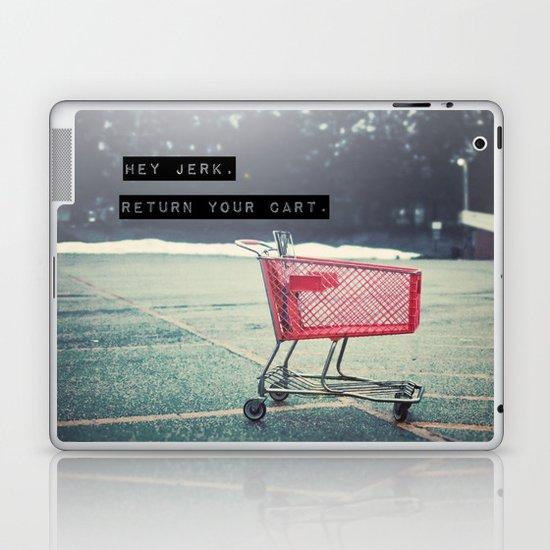 Grocery Cart Rage  Laptop & iPad Skin