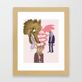 Malpractice Framed Art Print