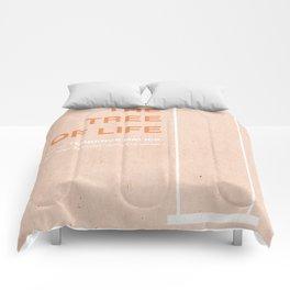 The Tree of Life - MINIMALIST POSTER Comforters