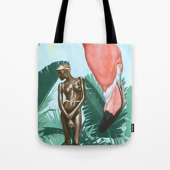 Mid Afternoon At The Plastic Garden Tote Bag
