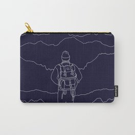 To the Mountains Carry-All Pouch