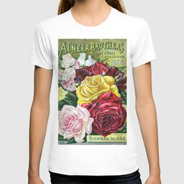 ALNEER BROTHERS SEED CATALOGE 1898 T-shirt