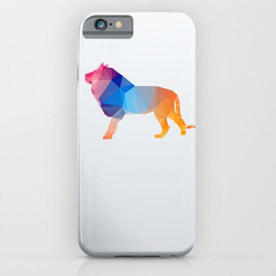 Glass Animal Series - Lion iPhone & iPod Case
