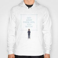 ripley Hoodies featuring Alien - Ellen Ripley Quote by V.L4B