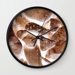 light between rocks gg Wall Clock