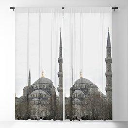 Sultan Ahmed Blue Mosque landmark, Istanbul Blackout Curtain