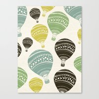 balloons Canvas Prints featuring Balloons by spinL