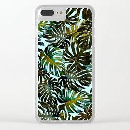 TROPICAL GARDEN XI Clear iPhone Case