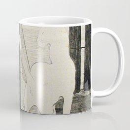 The Cats Rendezvous Edouard Manet 1868 Coffee Mug