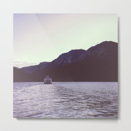 Sternwheeler on Lake Tahoe Metal Print