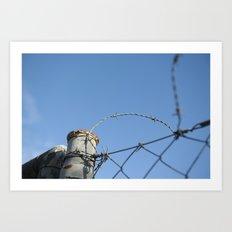 barrier #2 Art Print