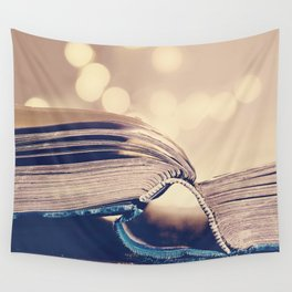 Book Love Wall Tapestry