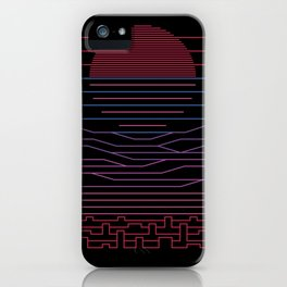 Leave The City For The Sea iPhone Case