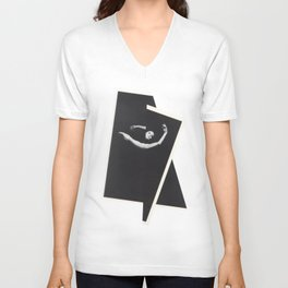 Caught in Flux Unisex V-Neck