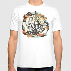 Gee Willikers! MEDIUM Mens Fitted Tee White