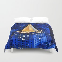 New York Life Building Duvet Cover