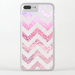 FUNKY MELON PINKBERRY Clear iPhone Case