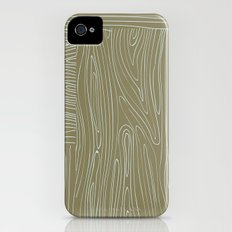 Woodgrain Slim Case iPhone (4, 4s)