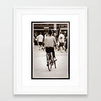 yowamushi pedal Framed Art Prints featuring Pedal power by adman_1979