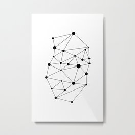 Minimalist Geometric 2 Metal Print