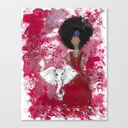 Delta Angel Canvas Print