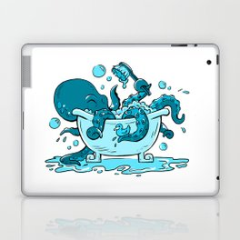 Octopus Bath Laptop & iPad Skin