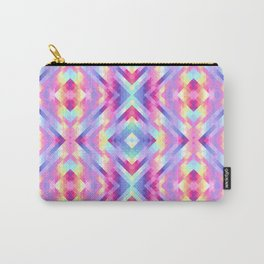 Geometric pastel Carry-All Pouch