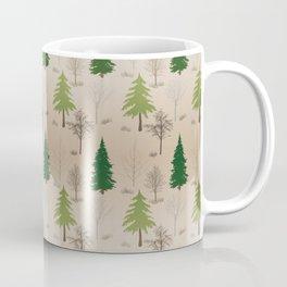 Barren Winter Trees Collage Coffee Mug